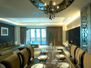 446平混搭风别墅设计混搭餐厅装修图片
