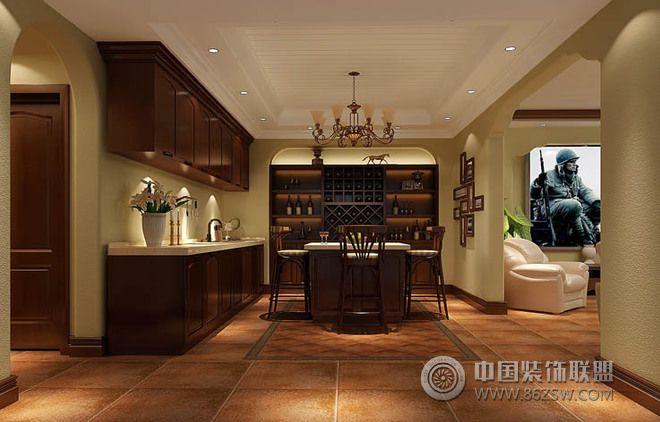 295平别墅欧式古典风设计图-餐厅装修图片