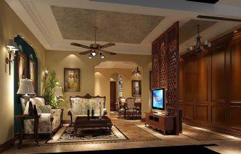 295平别墅欧式古典风设计图欧式客厅装修图片