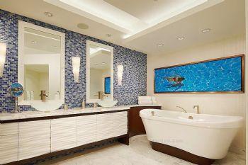 卫生间瓷砖搭配设计方案卫生间装修图片