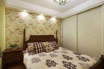 86平地中海风装修效果图欣赏地中海卧室装修图片
