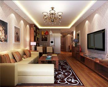 80平东南亚装修效果图欣赏东南亚客厅装修图片