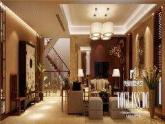 蔚蓝卡地亚港式风格案例东南亚风格别墅