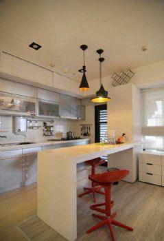吧台时尚个性解决方案现代厨房装修图片