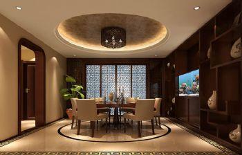 280平跃层欧式装修效果图餐厅装修图片