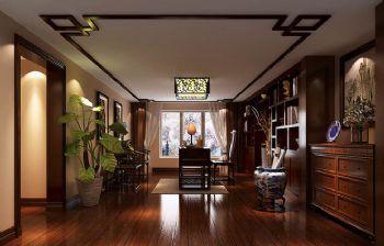 280平跃层欧式装修效果图书房装修图片