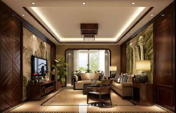 280平跃层欧式装修效果图客厅装修图片