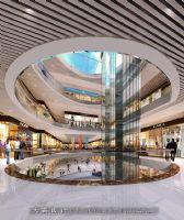 济南城市综合体设计效果图商场装修图片