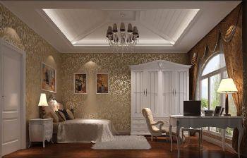 180平欧式复式设计图片欧式书房装修图片