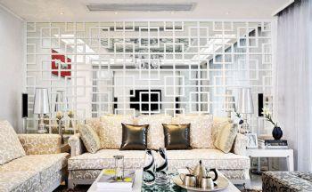 创意隔断的设计图片现代客厅装修图片