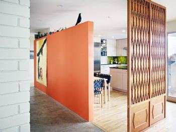 创意隔断的设计图片现代餐厅装修图片