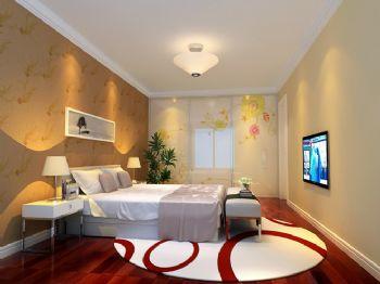 85平现代风中户型装修效果图现代卧室装修图片