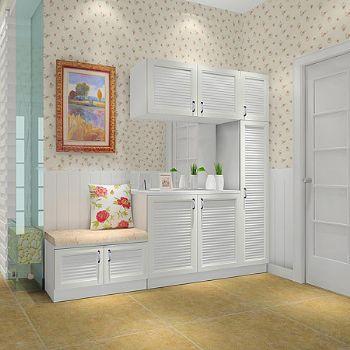 创新个性的鞋柜设计案例欣赏现代玄关装修图片