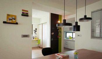 84平简约两居风格效果图欣赏简约厨房装修图片