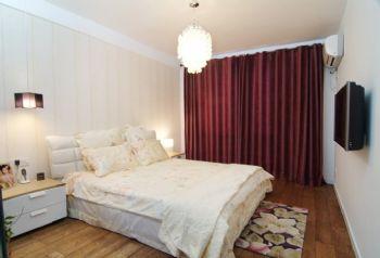 83平简约婚房装修案例欣赏简约卧室装修图片