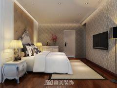 莱茵湖畔C4栋02户型-四居室-135㎡-简欧风格效果图欧式卧室装修图片