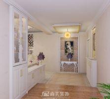 城市春天三居室120㎡简欧风格效果图欧式客厅装修图片