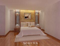 嘉和城高迪山别墅340㎡中式风格效果图中式卧室装修图片