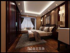 广西大学老师中式风格雅居中式卧室装修图片