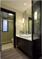 瀚林美筑-三居室-126㎡-都市简约风格实景图现代卫生间装修图片