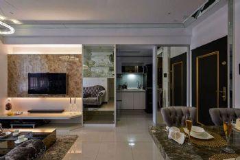 82平欧式两居装修效果图欧式过道装修图片