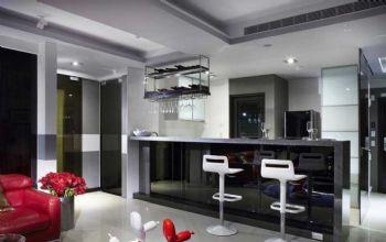 90平现代风卫生间格局布置案例现代厨房装修图片