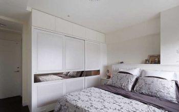 93平简约美家装修案例欣赏简约卧室装修图片