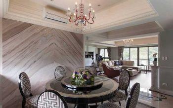 132平欧式风装修案例欣赏欧式餐厅装修图片