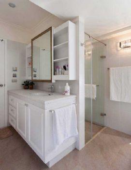 132平欧式风装修案例欣赏欧式卫生间装修图片