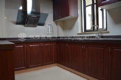 世茂运河城160平简欧风格完工图欧式厨房装修图片