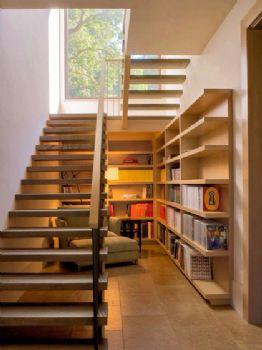极具创意的楼梯设计案例现代客厅装修图片