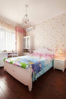 170平地中海复式风效果图地中海卧室装修图片