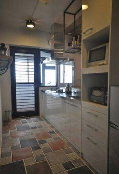 72平简约混搭装修案例简约厨房装修图片