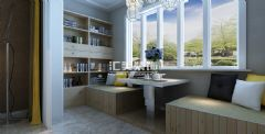 滨海名都现代风中户型装修效果图现代卧室装修图片