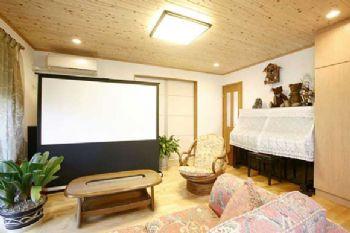 88平日式小清新美家欣赏现代客厅装修图片