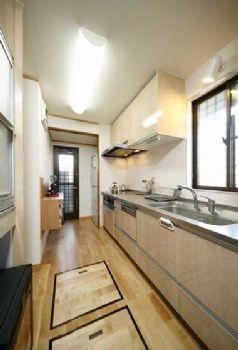 88平日式小清新美家欣赏现代厨房装修图片