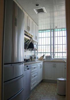 110平二居美式风装修案例欣赏美式厨房装修图片
