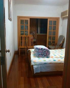 110平二居美式风装修案例欣赏美式卧室装修图片