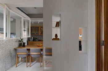 100平北欧风大户型装修案例欣赏欧式餐厅装修图片