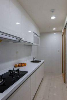 62平现代两居风格装修案例现代厨房装修图片