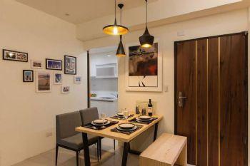 62平现代两居风格装修案例现代餐厅装修图片