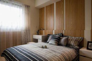 62平现代两居风格装修案例现代卧室装修图片