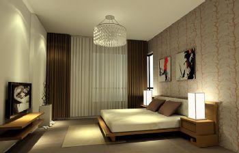 120平二居现代风装修图片现代卧室装修图片