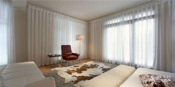 300平别墅现代风演绎简洁的美居现代卧室装修图片