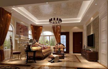 420平别墅欧式古典风案例欧式客厅装修图片