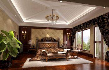 420平别墅欧式古典风案例欧式卧室装修图片