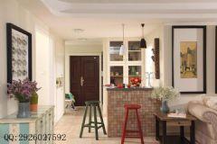 铭城国际社区现代简约大户型装修效果图现代简约客厅装修图片
