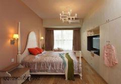 铭城国际社区现代简约大户型装修效果图现代简约卧室装修图片