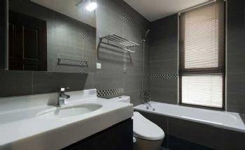90平简欧两居设计图片简约卫生间装修图片