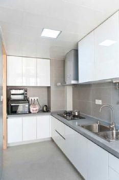 96平简约婚房装修案例厨房装修图片